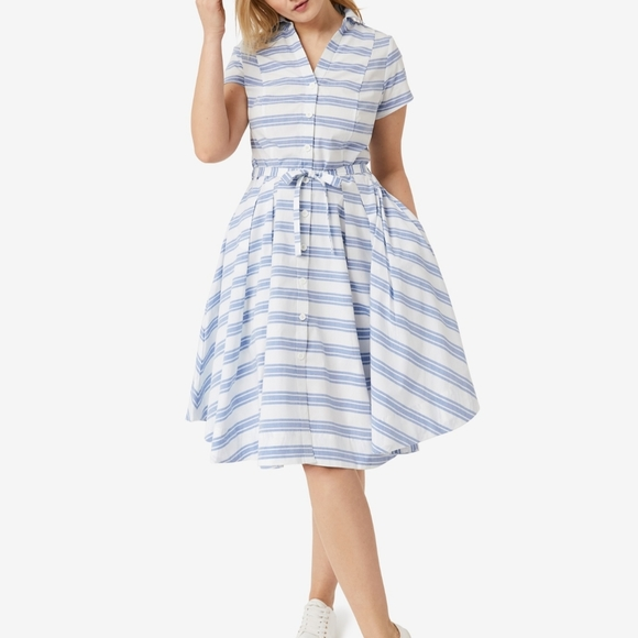 Ellos NWOT Sandy Shirtwaist Pocket Dress